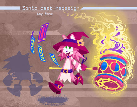 Sonic Redesign- Amy