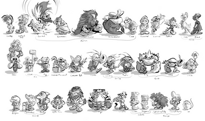 IDW Sonic background characters