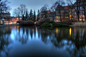 Park Wilsona, Poznan by askabenighted