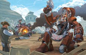 Ten Ton Automatons by robotnicc