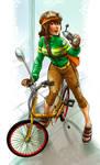 Commission - Sue by robotnicc