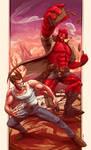 Wolverine and Hellboy 2