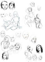 Digital Sketches by robotnicc