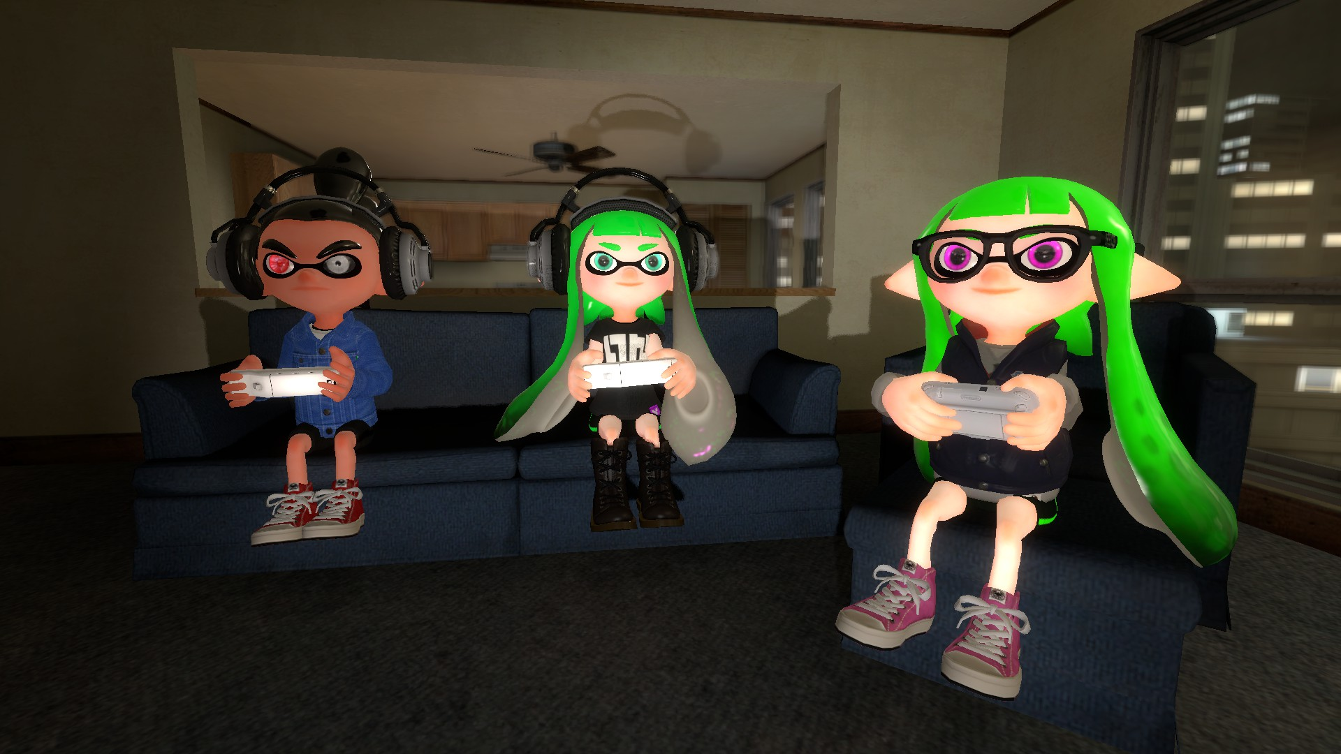 how to play weith friends in splatoon 2