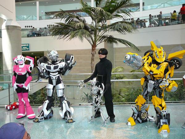 Transformers cosplayers by Michiyo-Nakashima