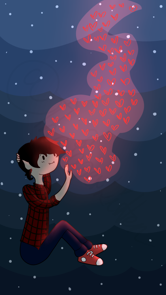 marshall lee wallpaper phone by softpinknpeachy on deviantart marshall lee wallpaper phone by