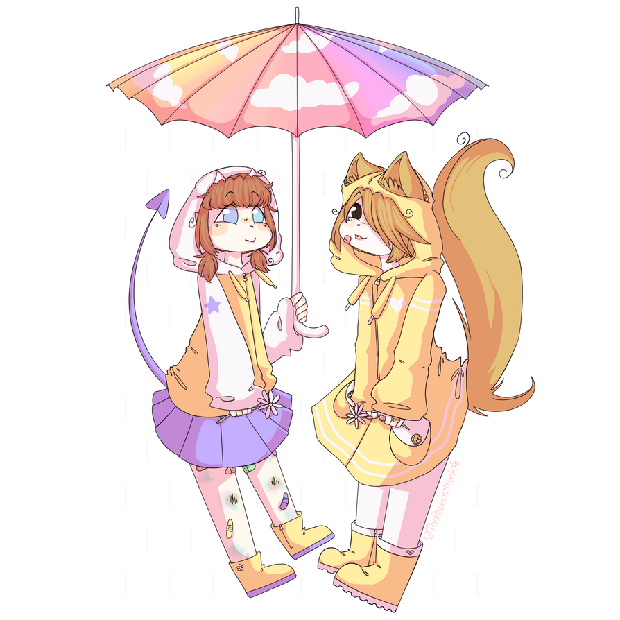 Raindrops by ThePaperKitten