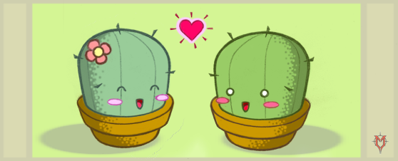 Prickly Love by Masebreaker