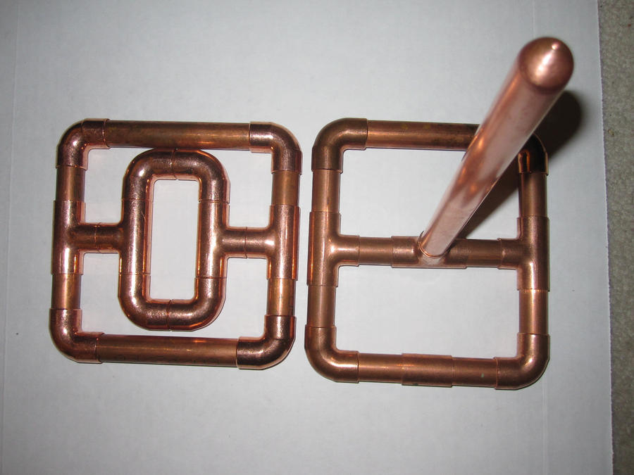 Copper Tube Art By Coppercasanova On Deviantart