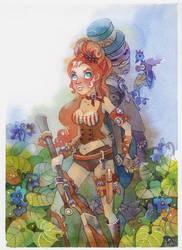 Sweet Violet by isletree