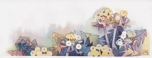 Dandelions by isletree