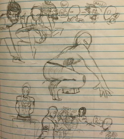 Spider Dude sketches 4 by TheVelma16