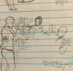 Spider Dude sketches 5 by TheVelma16