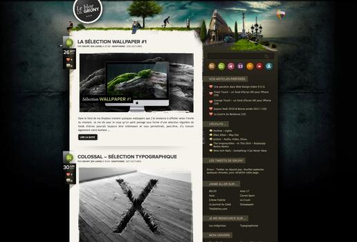My blog : Le Blog de Gruny