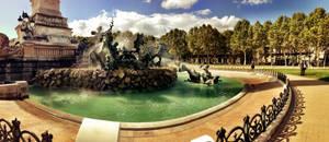 Place des Quinconces, Bordeaux by GrunySo