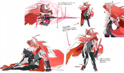 Character Sketches of ''Carmine'' by new-ja
