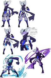 Character Sketches of Murasame