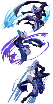 Character Sketches of Murasame 2