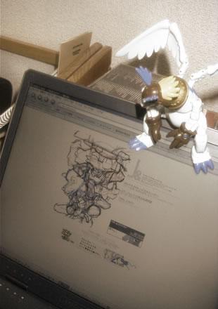my desktop by new-ja