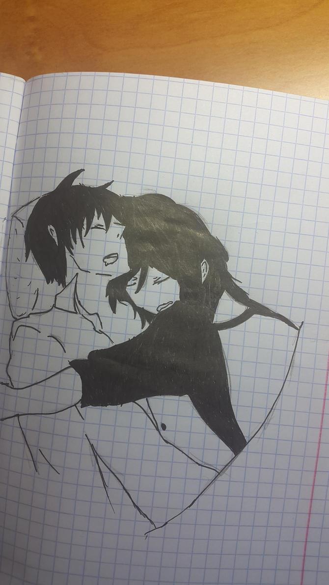 sleeping couple by Ch1psu