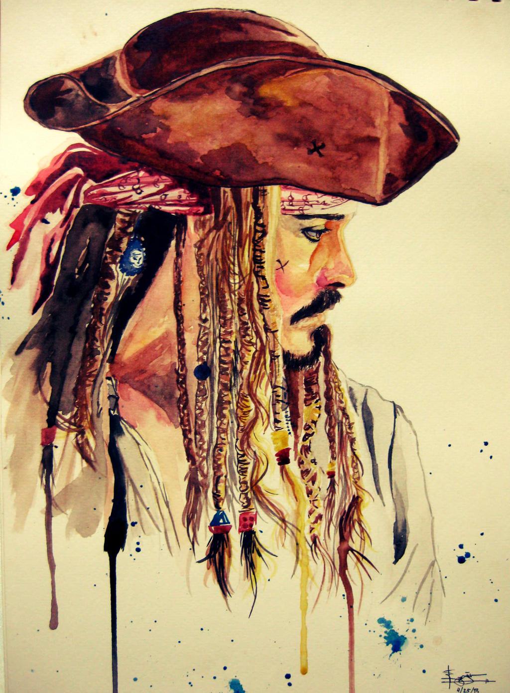 Tribute to  Jack Sparrow by BudsLightyear