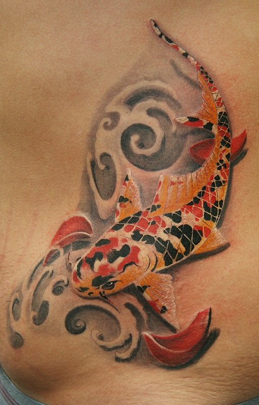 Japan koi fish tattoo by Remistattoo on deviantART