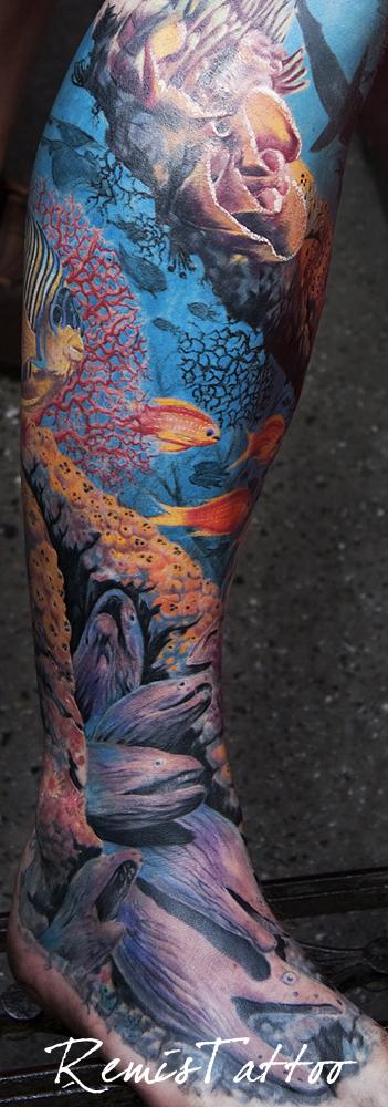 Under Water Tattoo By Remistattoo On DeviantArt