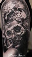 Day Of The Dead Tattoo Sugar Girl Tattoo