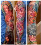 Color Jepanese Tattoo