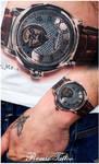 relistic tattoo Frederique Constant
