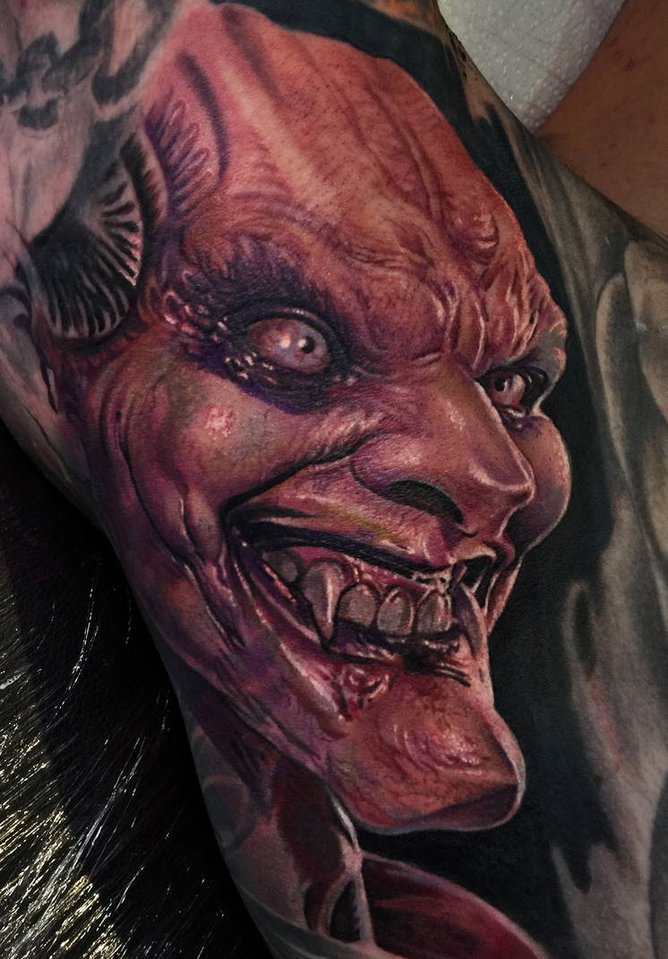 Realistic Horror Tattoojpg by Remistattoo