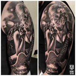Remis music tattoo