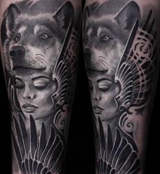 Remis Portrait Tattoo