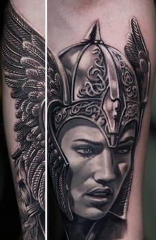 Viking Woman Tattoo