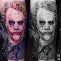 Remis Joker Tattoo