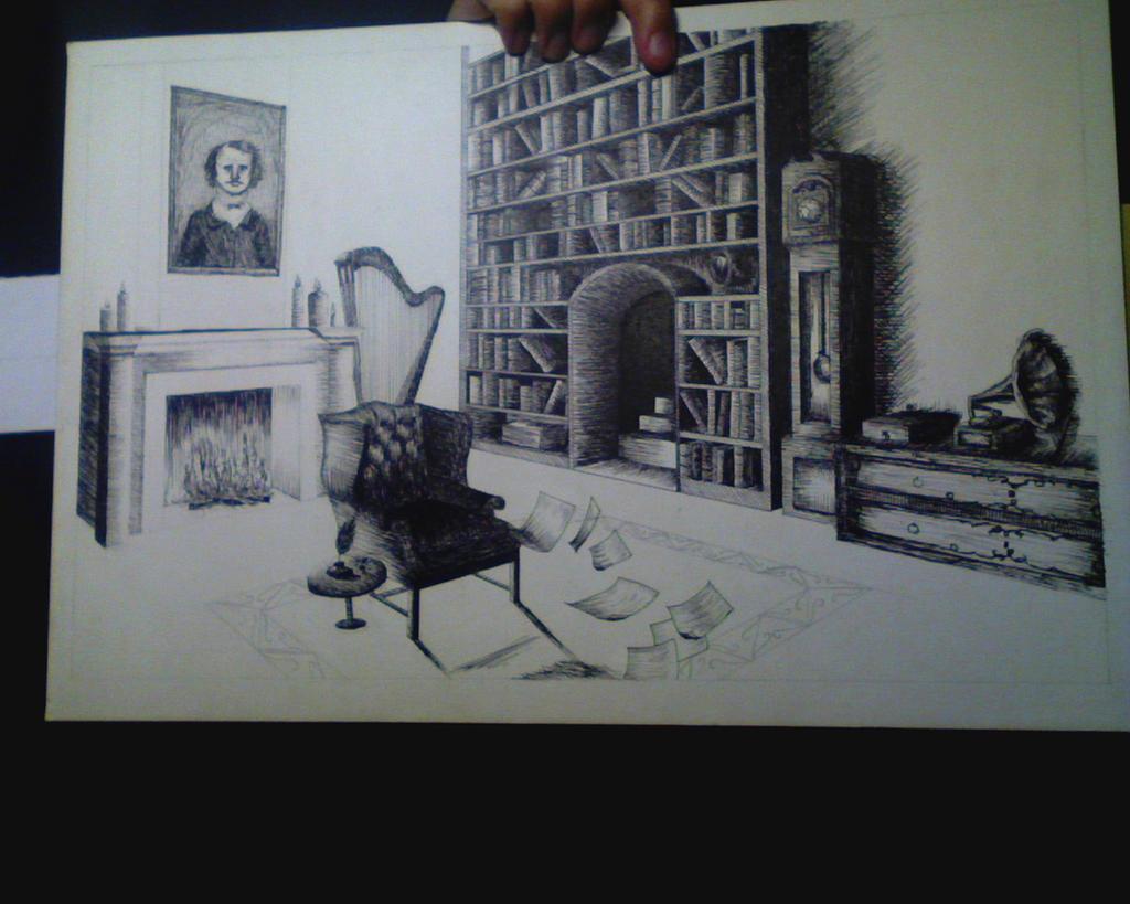 Gorey ink: process by monxcheri
