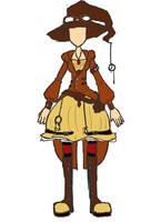 Dabby's Steampunk outfit by princessdabby