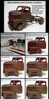 weathering paint an rust tutorial