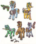MLP fallout - Raiders and slavers
