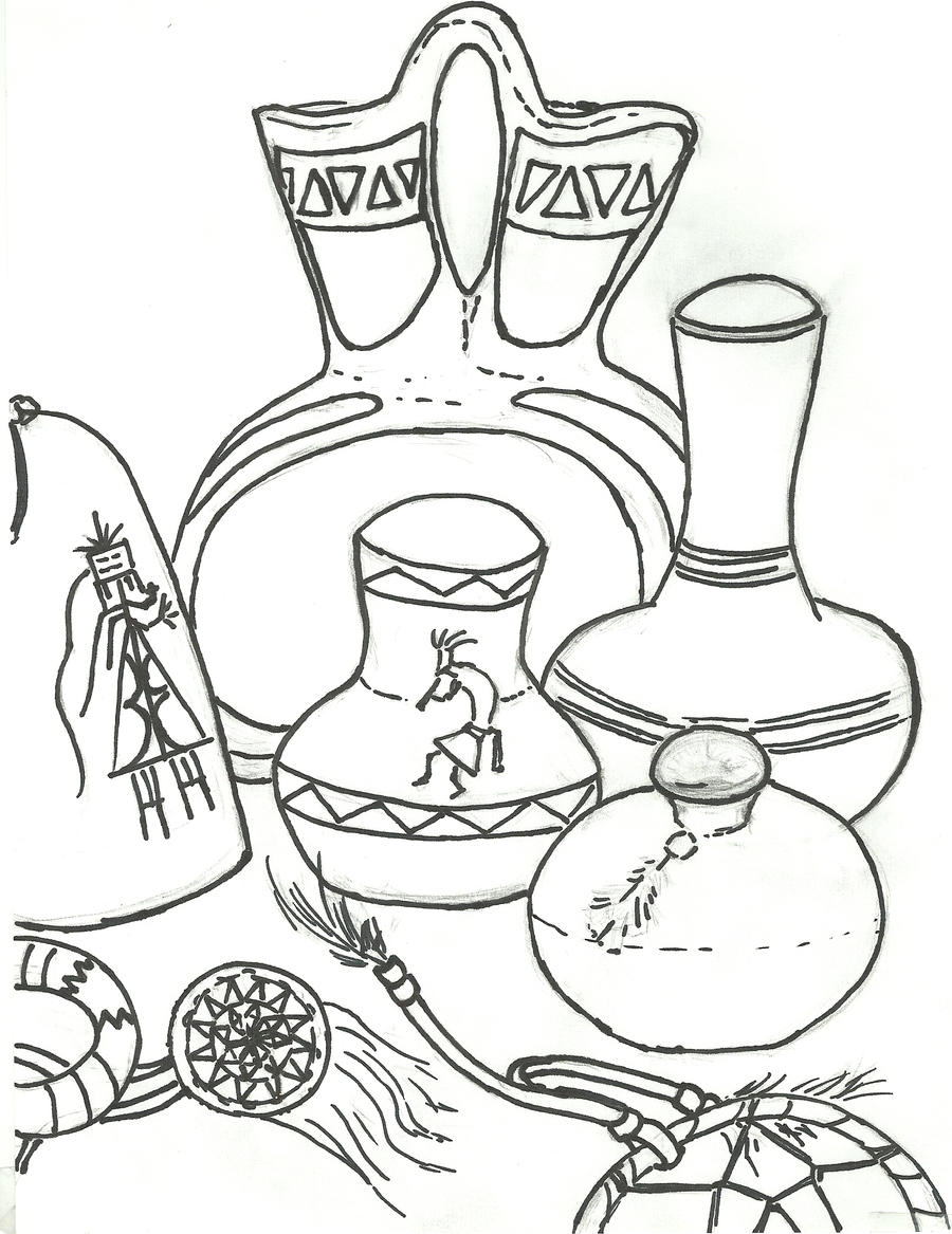 navaho coloring pages - photo#15