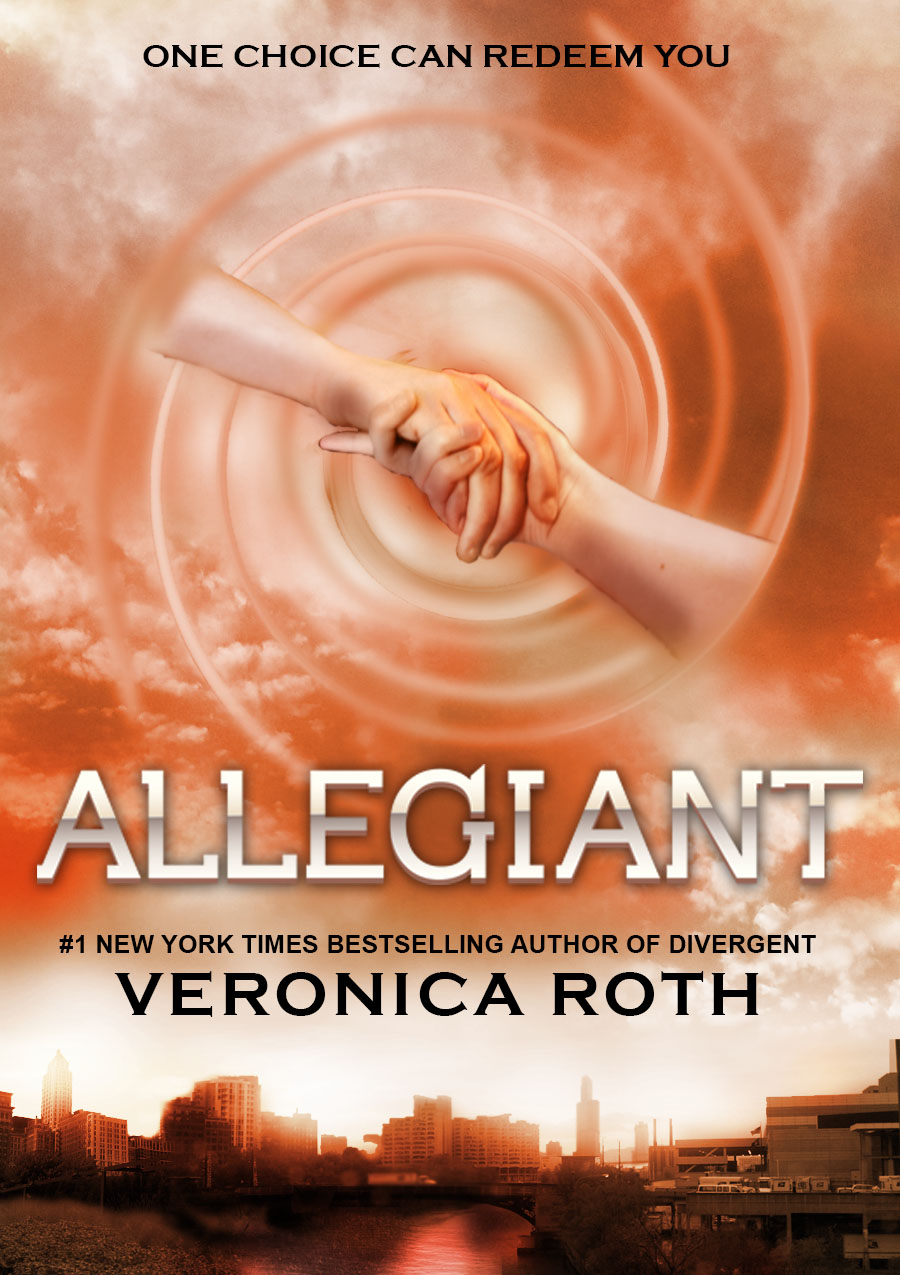 Divergent Book Cover Drawing ~ Allegiant cover design by haleygottardo on deviantart