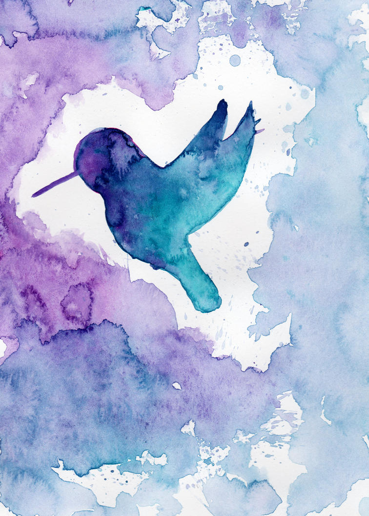 Fluorite Hummingbird by HaleyGottardo