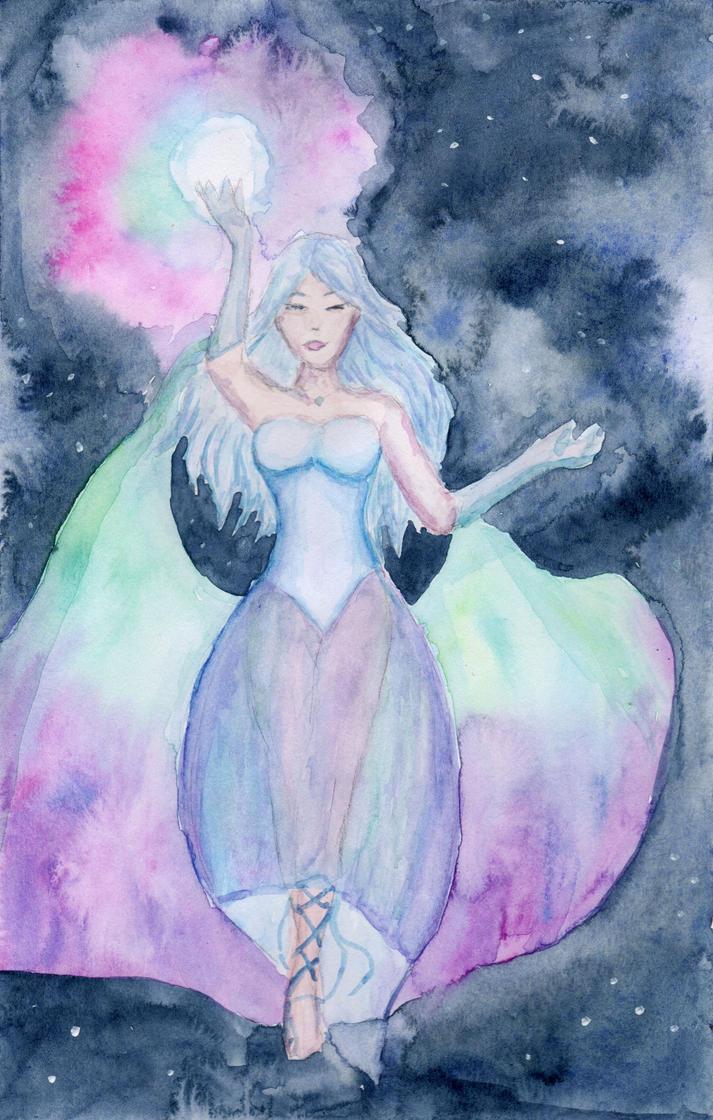 Aurora Goddess by HaleyGottardo