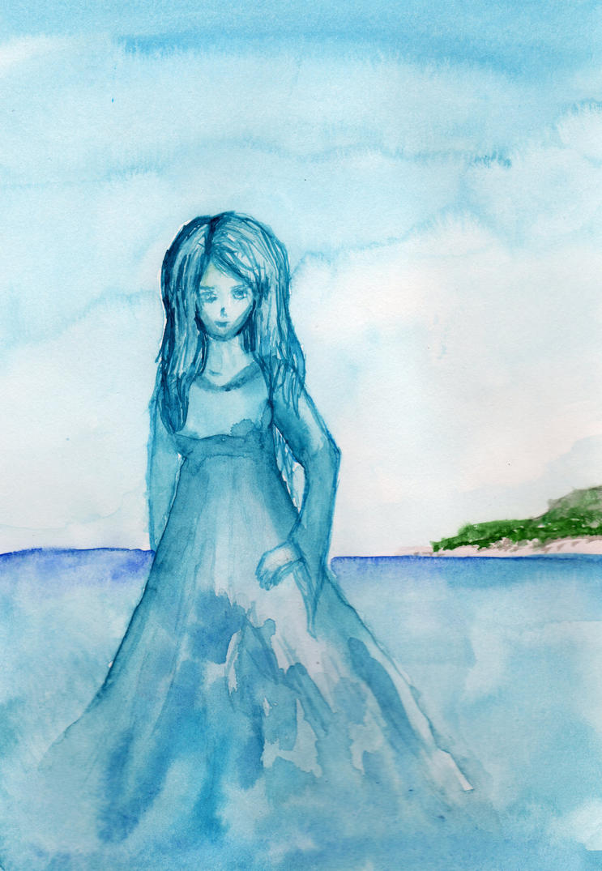 Ocean Goddess by HaleyGottardo