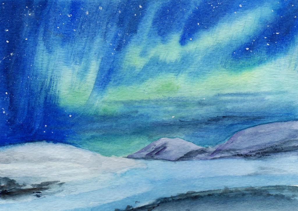 Aurora Borealis and Ridges