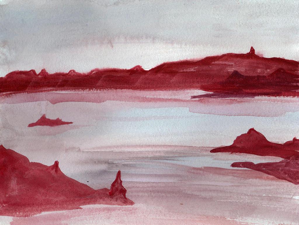 Desert Buttes Lake by HaleyGottardo