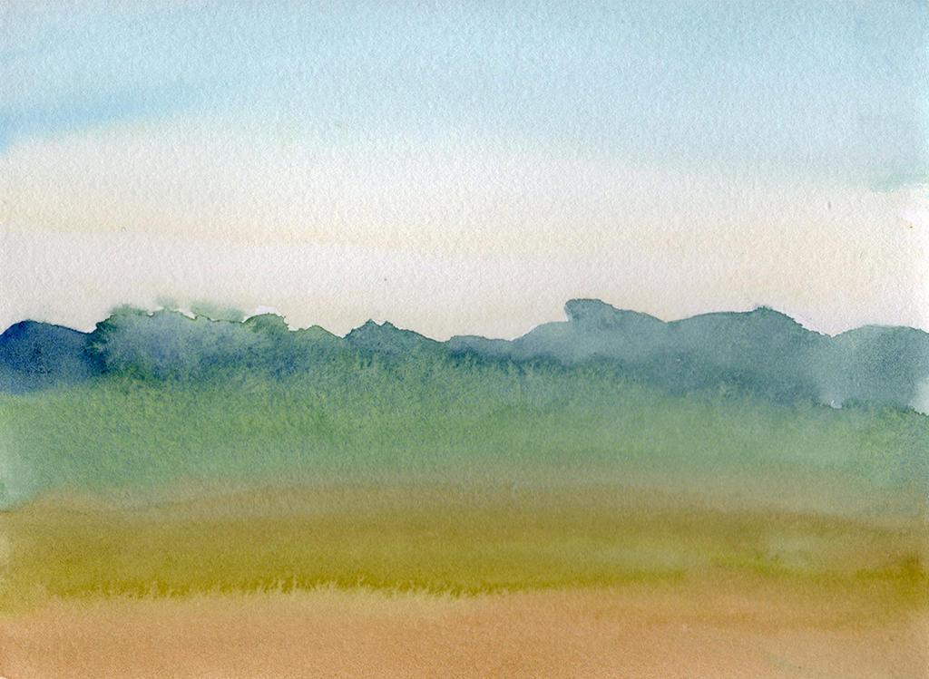 Misty Morning Prairie by HaleyGottardo