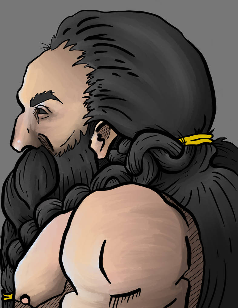 Just a dwarf by Kickstarter