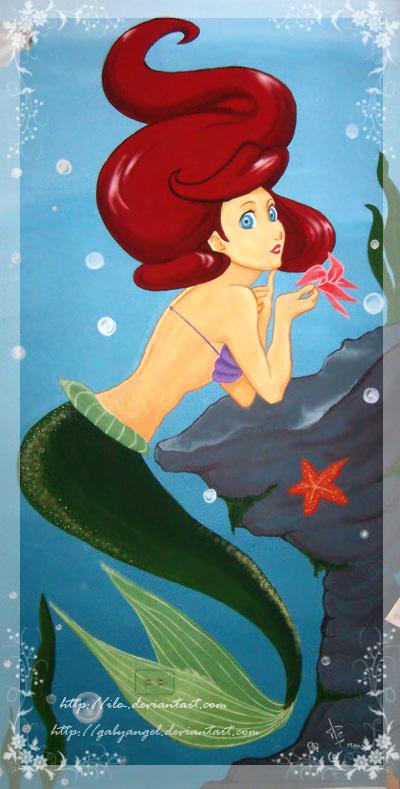Ariel's Wall by Gabyangel