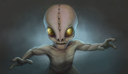 X-Com Sectoid by NeoWorm